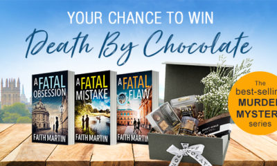 Death by Chocolate hamper and books prize