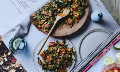 BOSH! Red Pepper Couscous Salad